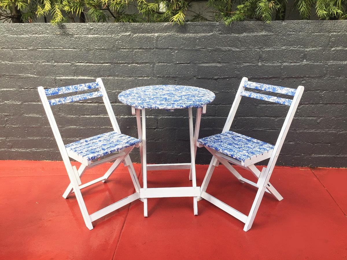 decoupage su una sedia 10 idee e foto sedie in legno esterni