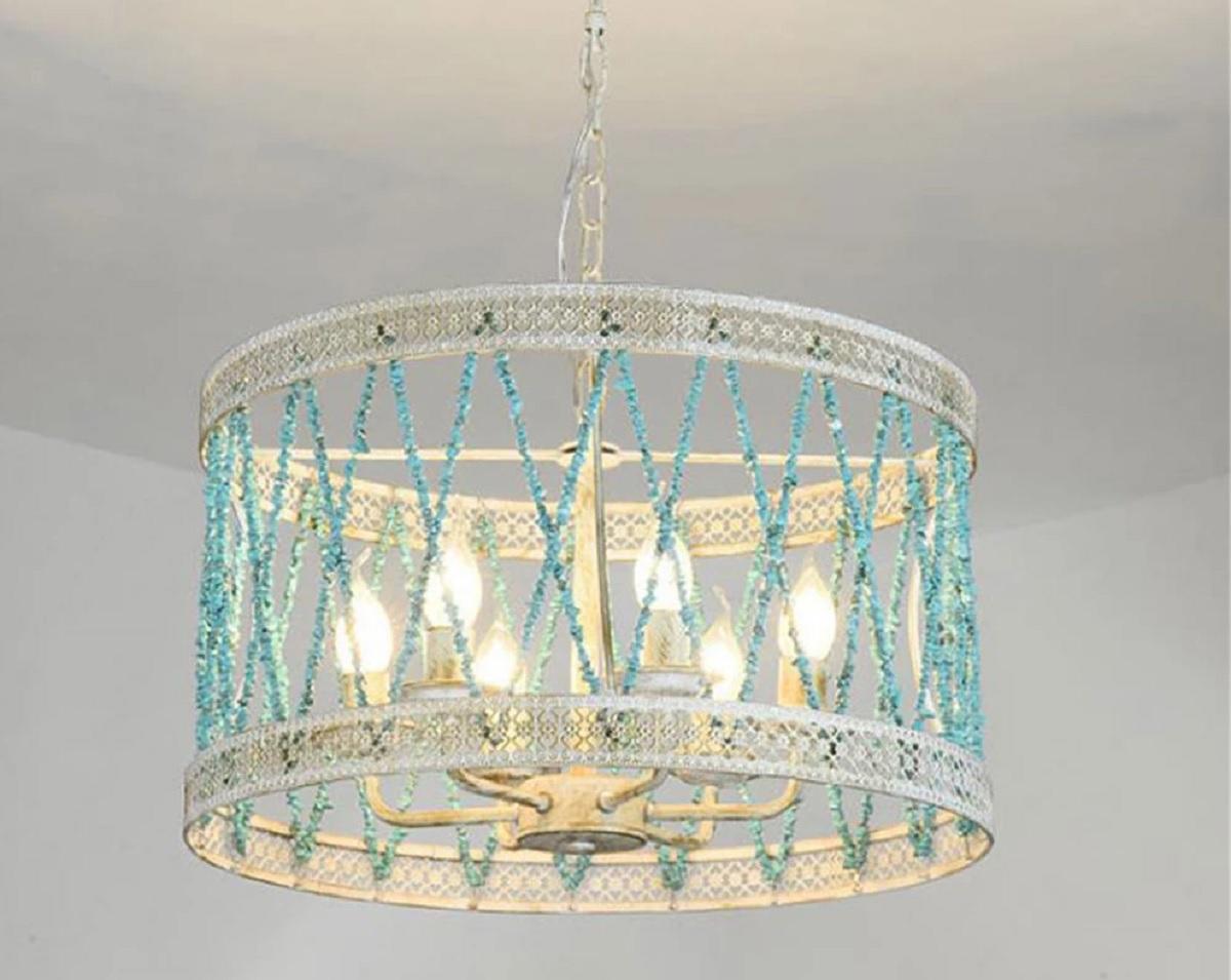 lampade-ferro-battuto-eleganti e decorate