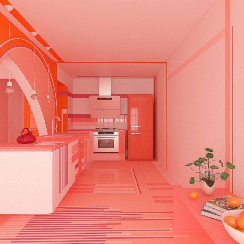 pareti-cucina-color-corallo-idee-foto-13