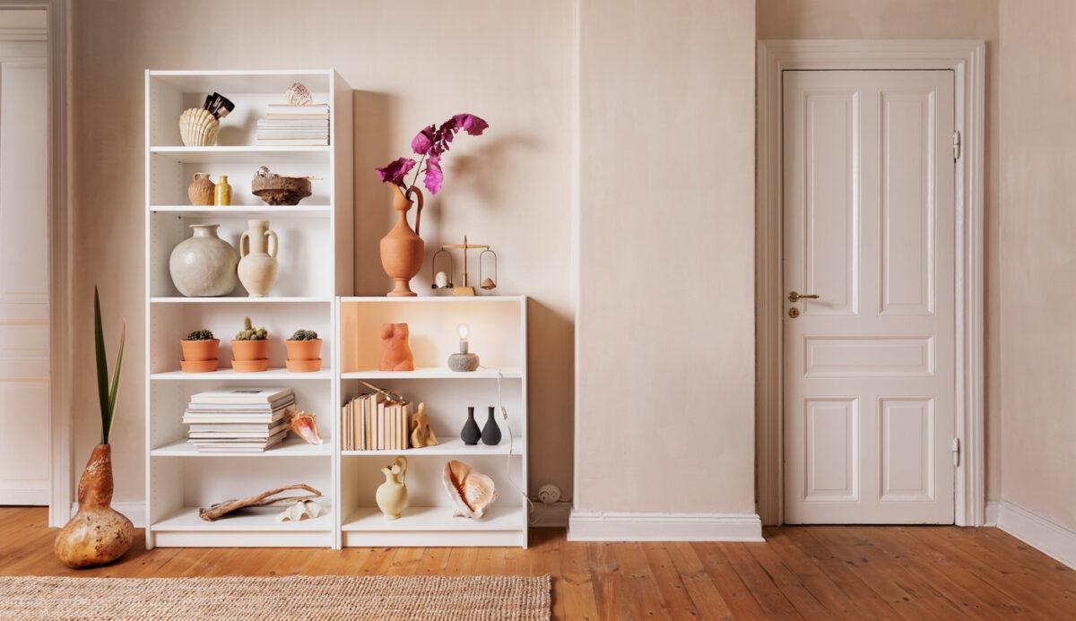 Come riciclare una vecchia libreria: 10 idee e foto