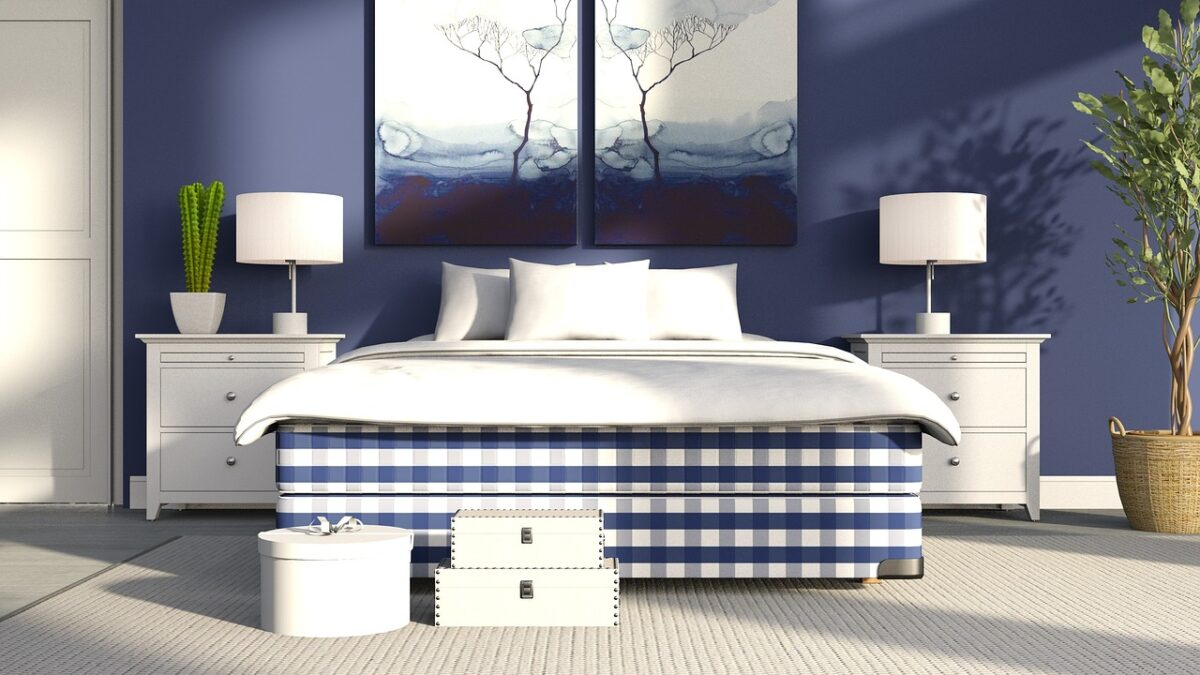 Arredare la camera da letto con il bluette: 10 idee e foto