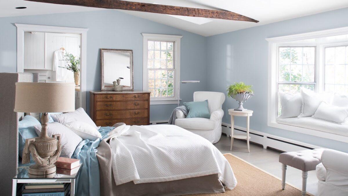 Colori chiari per la camera da letto: 10 idee e foto