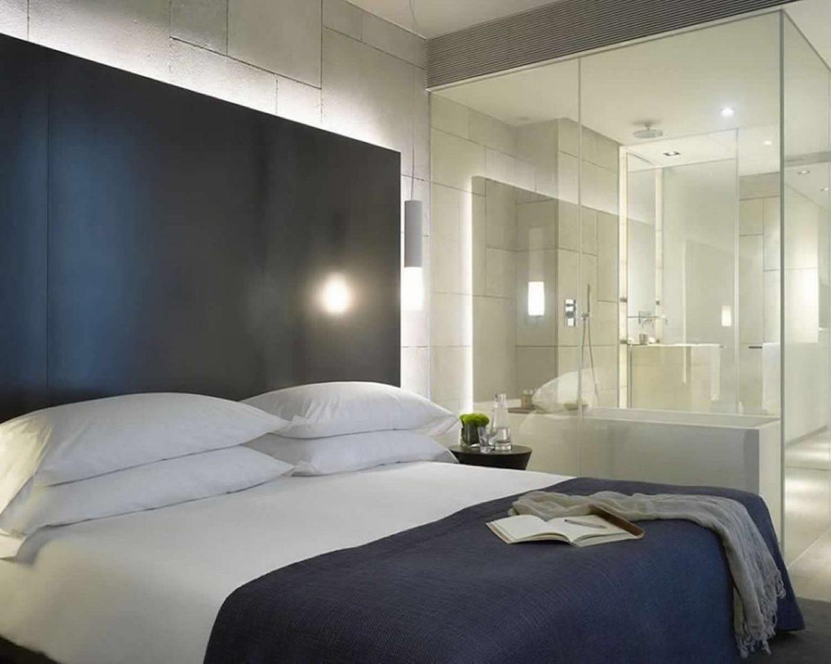 Doccia in camera da letto: 10 idee e foto