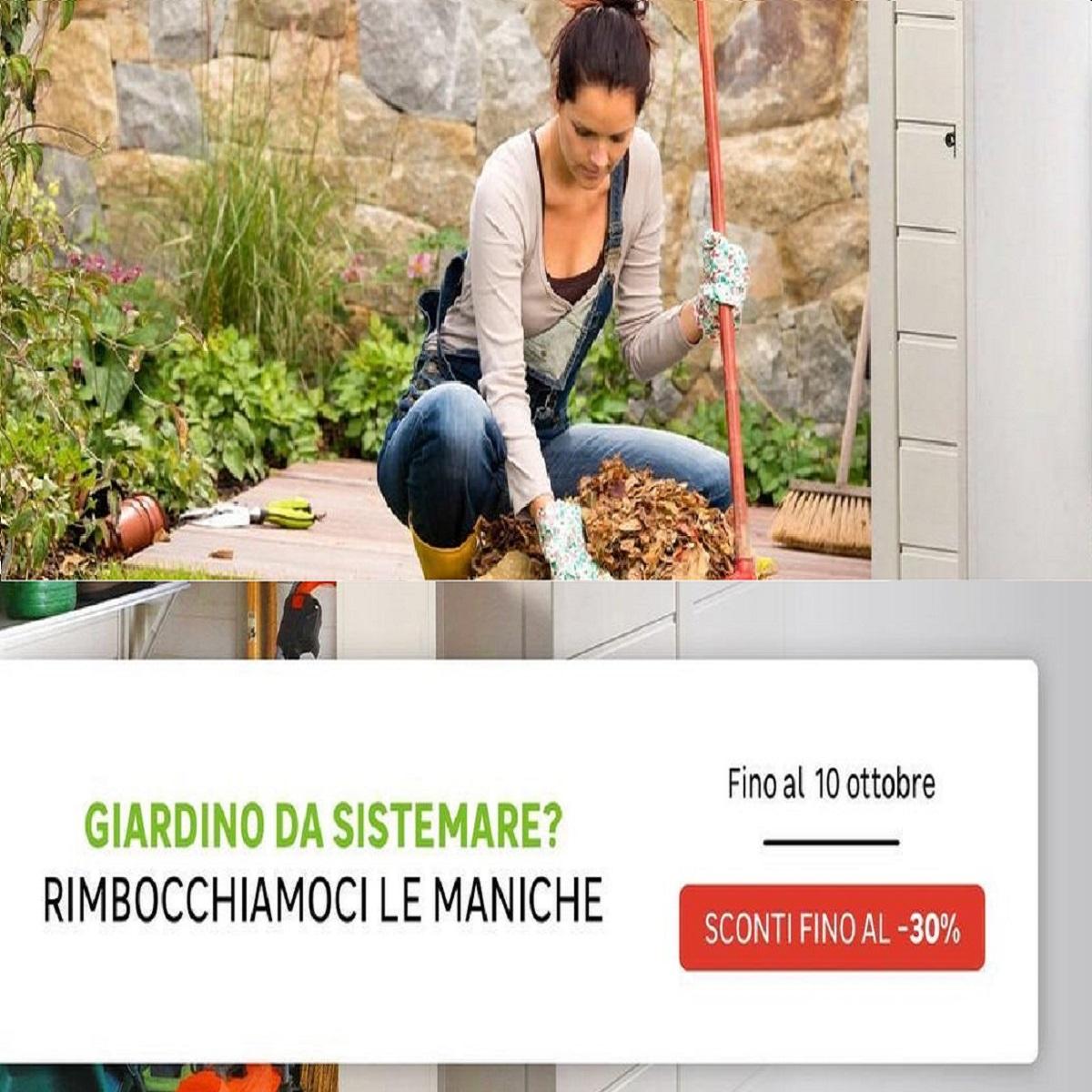 Leroy Merlin ottobre: 10 prodotti scontati per il giardino