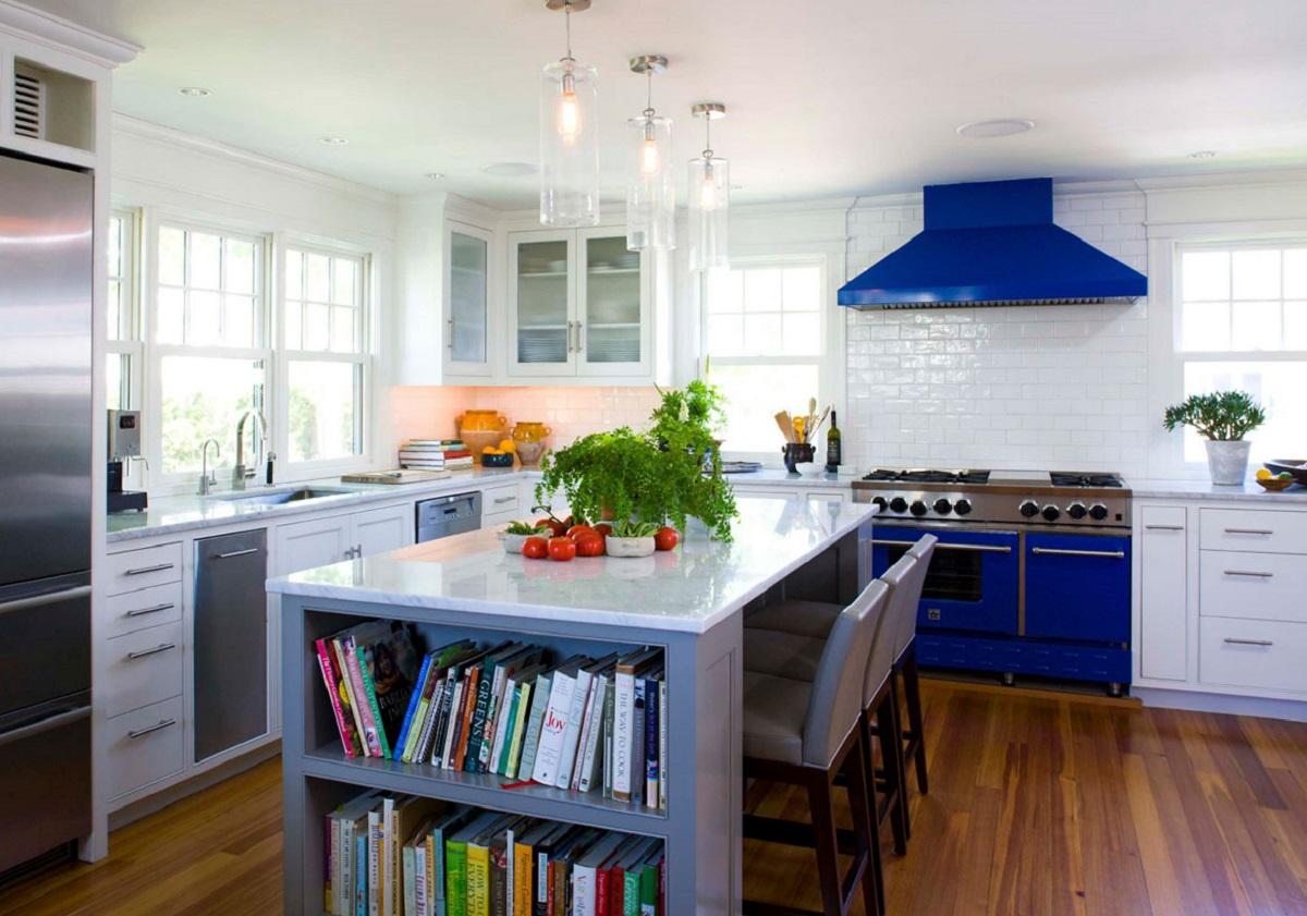 arredare la cucina con il bluette elettrodomestici