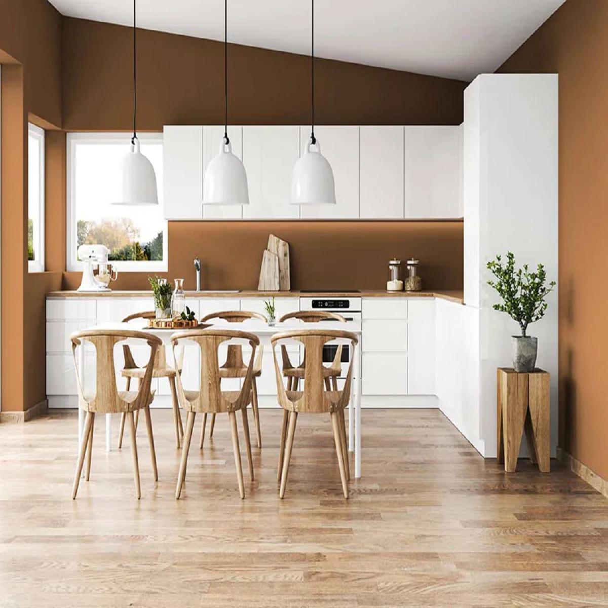 Pareti bronzo in cucina: 10 idee e foto
