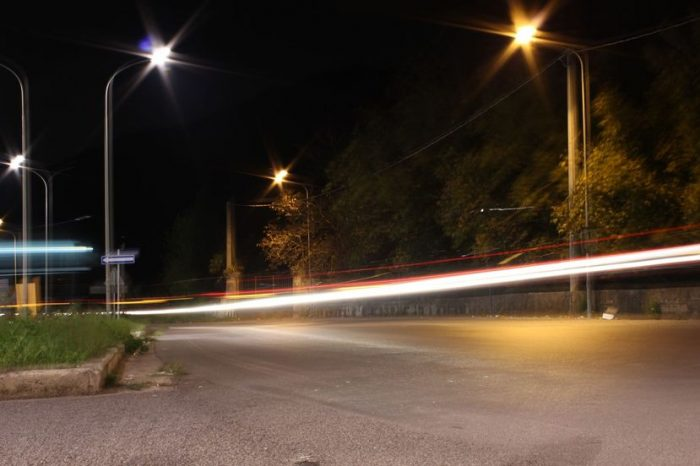 Fotografare scie luminose